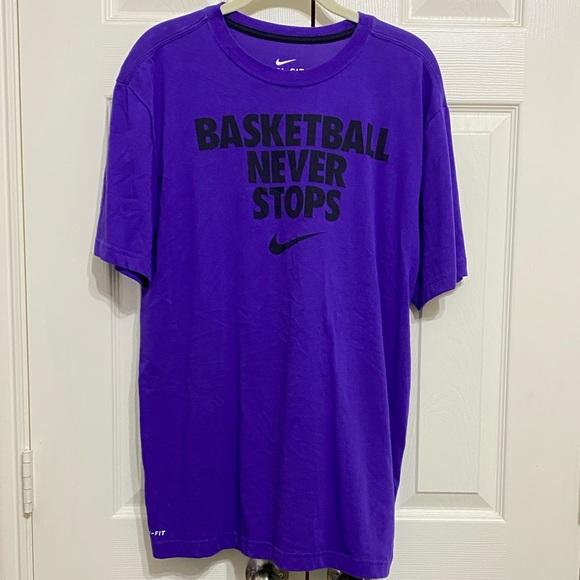 Nike Mens Purple Tee